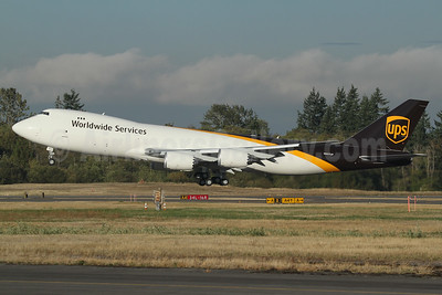 UPS Airlines (UPS-Worldwide Services) Boeing 747-8F N607UP (msn 64265) PAE (Nick Dean). Image: 939436.