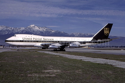 United Parcel Service-UPS (UPS Airlines) Boeing 747-123 (F) N9675 (msn 20390) ONT (John Wegg - Bruce Drum Collection). Image: 944817.
