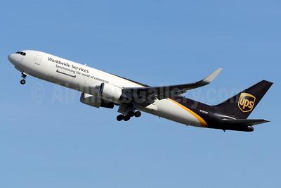 UPS Airlines (UPS-Worldwide Services) Boeing 767-34AF ER WL N337UP (msn 37858) MIA (Jay Selman). Image: 403481.