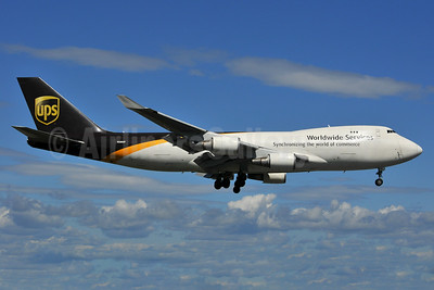 UPS Airlines (UPS-Worldwide Services) Boeing 747-428F N580UP (msn 25632) ANC (Ken Petersen). Image: 936647.
