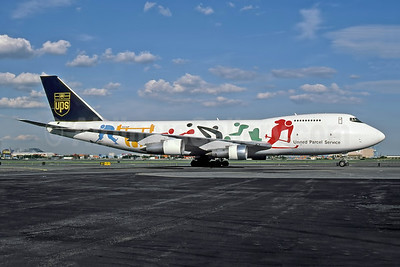 "UPS' 1998 ""Worldwide Olympic Partner"" special livery"