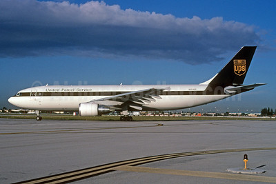 United Parcel Service-UPS (UPS Airlines) Airbus A300F4-622R N153UP (msn 839) MIA (Bruce Drum). Image: 104413.
