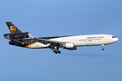 UPS Airlines (UPS-Worldwide Services) McDonnell Douglas MD-11 (F) N254UP (msn 48406 ANC (Michael B. Ing). Image: 936653.