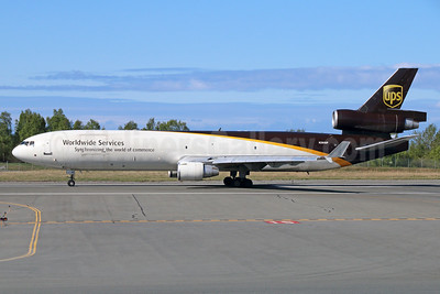 UPS Airlines (UPS-Worldwide Services) McDonnell Douglas MD-11 (F) N284UP (msn 48541) ANC (Michael B. Ing). Image: 928768.