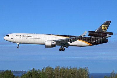 UPS Airlines (UPS-Worldwide Services) McDonnell Douglas MD-11 (F) N270UP (msn 48576) ANC (Michael B. Ing). Image: 928767.
