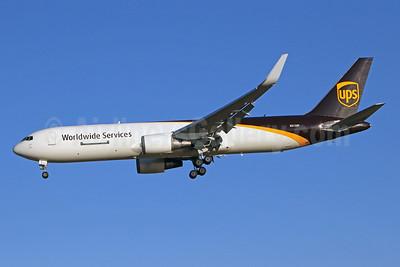 UPS Airlines (UPS-Worldwide Services) Boeing 767-34AF ER WL N312UP (msn 27763) PHL (Brian McDonough). Image: 941117.