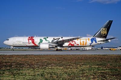 UPS' 1998 Olympic logo jet