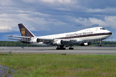 United Parcel Service-UPS (UPS Airlines) Boeing 747-123 (F) N672UP (msn 20324) ANC (Keith Burton). Image: 901774.