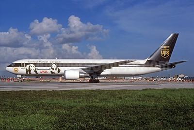 "UPS' 1999 ""Panda Express"" special livery"
