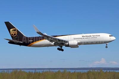 UPS Airlines (UPS-Worldwide Services) Boeing 767-34AF ER WL N356UP (msn 27269) ANC (Michael B. Ing). Image: 938317.
