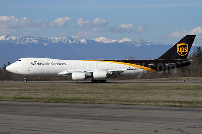 UPS Airlines (UPS-Worldwide Services) Boeing 747-8F N609UP (msn 64254) PAE (Nick Dean). Image: 941249.