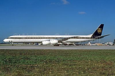 United Parcel Service-UPS (UPS Airlines) McDonnell Douglas DC-8-73AF N836UP (msn 45936) MIA (Bruce Drum). Image: 104414.