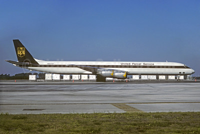 United Parcel Service-UPS (UPS Airlines) McDonnell Douglas DC-8-73AF N807UP (msn 46007) (Christian Volpati Collection). Image: 927472.