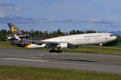 UPS Airlines (UPS-Worldwide Services) McDonnell Douglas MD-11 (F) N290UP (msn 48456) ANC (Ken Petersen). Image: 928769.