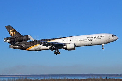 UPS Airlines (UPS-Worldwide Services) McDonnell Douglas MD-11 (F) N258UP (msn 48416) ANC (Michael B. Ing). Image: 925111.