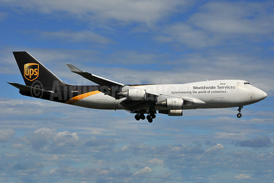 UPS Airlines (UPS-Worldwide Services) Boeing 747-44AF N576UP (msn 35665) ANC (Michael B. Ing). Image: 936650.