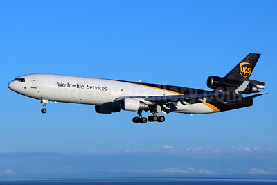 UPS Airlines (UPS-Worldwide Services) McDonnell Douglas MD-11 (F) N294UP (msn 48472) ANC (Michael B. Ing). Image: 938319.