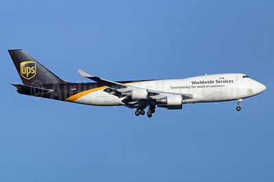 UPS Airlines (UPS-Worldwide Services) Boeing 747-4R7F N583UP (msn 25867) ANC (Michael B. Ing). Image: 936652.