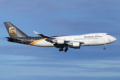 UPS Airlines (UPS-Worldwide Services) Boeing 747-44AF N572UP (msn 35669) ANC (Michael B. Ing). Image: 936648.