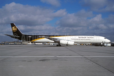 UPS Airlines (UPS-Worldwide Services) McDonnell Douglas DC-8-73AF N803UP (msn 46073) JFK (Christian Volpati Collection). Image: 948499.