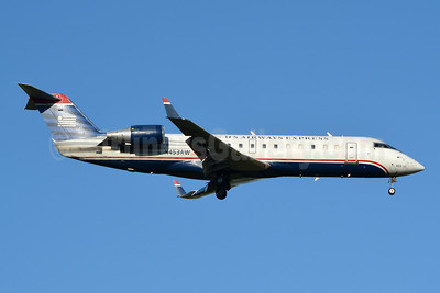 US Airways Express-Air Wisconsin Bombardier CRJ200 (CL-600-2B19) N453AW (msn 7838) CLT (Jay Selman). Image: 404031.