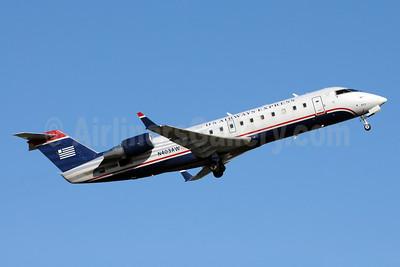 US Airways Express-Air Wisconsin Bombardier CRJ200 (CL-600-2B19) N403AW (msn 7288) CLT (Bruce Drum). Image: 103261.