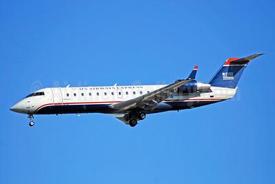 US Airways Express-Air Wisconsin Bombardier CRJ200 (CL-600-2B19) N428AW (msn 7695) CLT (Bruce Drum). Image: 105288.