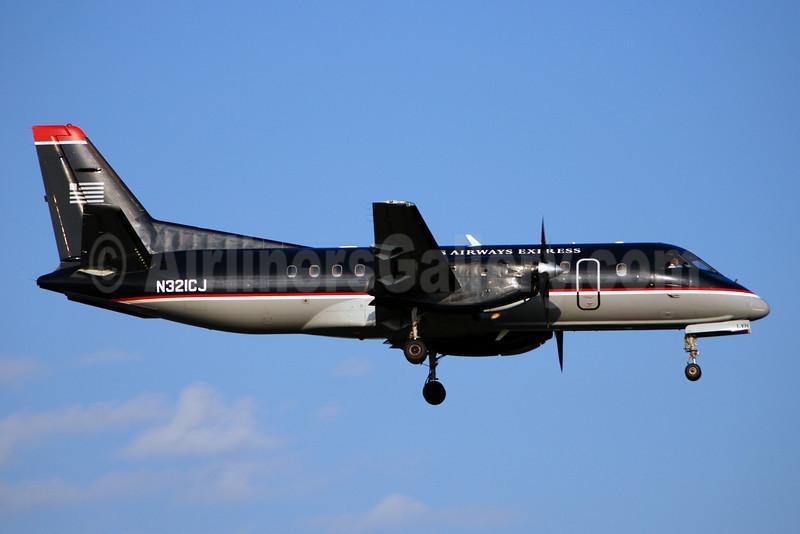 US Airways-Colgan Air (2nd) SAAB 340B N321CJ (msn 321) DCA (Bruce Drum). Image: 100882.