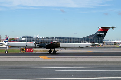 US Airways-Colgan Air (2nd) Beech 1900C-1 N119CJ (msn UC-19) LGA (Fred Freketic). Image: 949959.