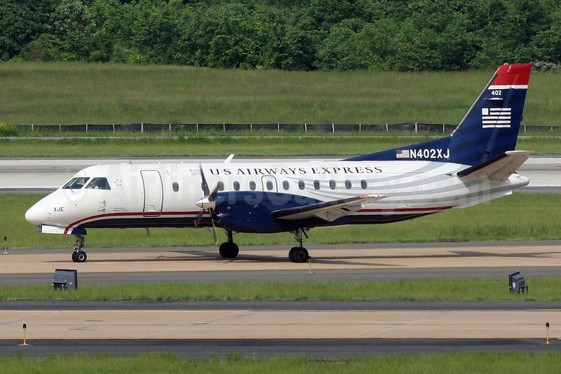 US Airways Express-Mesaba Airlines SAAB 340B N402XJ (msn 402) IAD (Brian McDonough). Image: 906520.