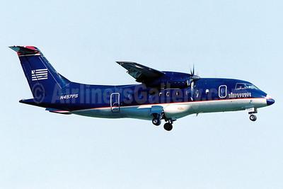 US Airways Express-PSA Airlines (2nd) Dornier 328-110 N457PS (msn 3048) DCA (Brian McDonough). Image: 911067.