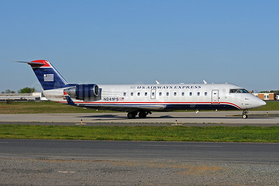 US Airways Express-PSA Airlines (2nd) Bombardier CRJ200 (CL-600-2B19) N241PS (msn 7909) CLT (Bruce Drum). Image: 101412.