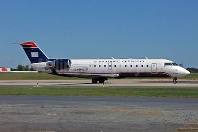 US Airways Express-PSA Airlines (2nd) Bombardier CRJ200 (CL-600-2B19) N246PS (msn 7920) CLT (Jay Selman). Image: 402145.