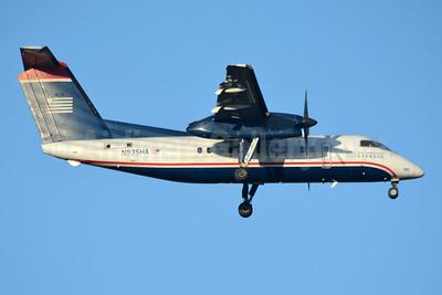 US Airways Express-Piedmont Airlines (2nd) Bombardier DHC-8-102 Dash 8 N935HA (msn 142) CLT (Jay Selman). Image: 403775.