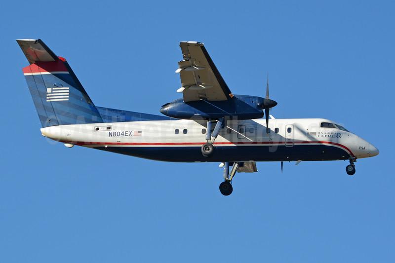 US Airways Express-Piedmont Airlines (2nd) Bombardier DHC-8-102 Dash 8 N804EX (msn 227) CLT (Jay Selman). Image: 403772.