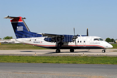 US Airways Express-Piedmont Airlines (2nd) Bombardier DHC-8-102 Dash 8 N936HA (msn 145) CLT (Bruce Drum). Image: 101413.