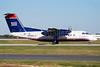 US Airways Express-Piedmont Airlines (2nd) Bombardier DHC-8-102 N908HA (msn 015) CLT (Bruce Drum). Image: 100890.