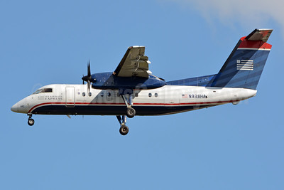 US Airways Express-Piedmont Airlines (2nd) Bombardier DHC-8-102 Dash 8 N938HA (msn 152) CLT (Jay Selman). Image: 403776.