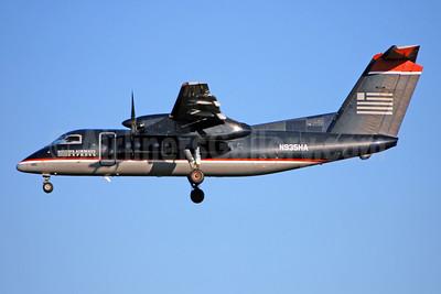 US Airways Express-Piedmont Airlines (2nd) Bombardier DHC-8-102 Dash 8 N935HA (msn 142) CLT (Bruce Drum). Image: 104680.