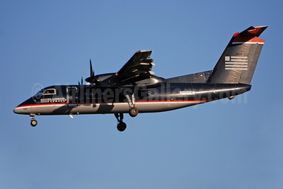 US Airways Express-Piedmont Airlines (2nd) Bombardier DHC-8-102 Dash 8 N816EX (msn 329) CLT (Bruce Drum). Image: 100888.