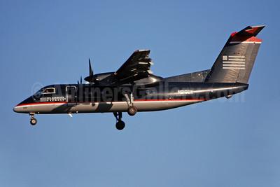 US Airways Express-Piedmont Airlines (2nd) Bombardier DHC-8-102 Dash 8 N816EX (msn 329) CLT (Bruce Drum). Image: 100888.