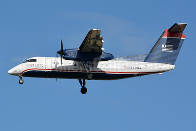 US Airways Express-Piedmont Airlines (2nd) Bombardier DHC-8-102 Dash 8 N941HA (msn 161) CLT (Jay Selman). Image: 402517.