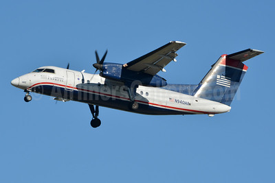 US Airways Express-Piedmont Airlines (2nd) Bombardier DHC-8-102 Dash 8 N940HA (msn 156) CLT (Jay Selman). Image: 403777.