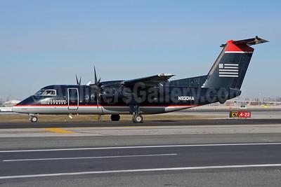 US Airways Express-Piedmont Airlines (2nd) Bombardier DHC-8-102 Dash 8 N930HA (msn 126) LGA (Fred Freketic). Image: 949972.
