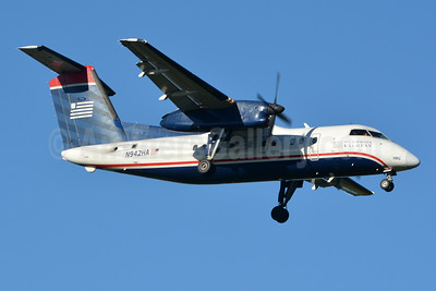 US Airways Express-Piedmont Airlines (2nd) Bombardier DHC-8-102 Dash 8 N942HA (msn 163) CLT (Jay Selman). Image: 403778.