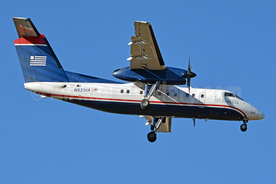 US Airways Express-Piedmont Airlines (2nd) Bombardier DHC-8-102 Dash 8 N931HA (msn 132) CLT (Jay Selman). Image: 403774.