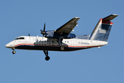 US Airways Express-Piedmont Airlines (2nd) Bombardier DHC-8-102 Dash 8 N838EX (msn 220) CLT (Jay Selman). Image: 403773.