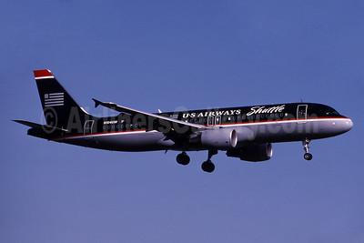 US Airways Shuttle (US Airways) Airbus A320-214 N104UW (msn 863) DCA (Bruce Drum). Image: 101076.