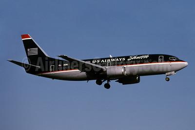 US Airways Shuttle (US Airways) Boeing 737-3B7 N387US (msn 22959) DCA (Bruce Drum). Image: 101075.