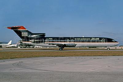 US Airways Shuttle (US Airways) Boeing 727-225 N918TS (msn 20445) MIA (Bruce Drum). Image: 101073.